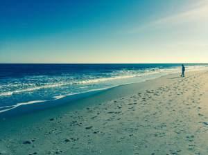 Jan 1 beach scene